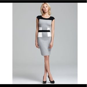 French Connection 'Manhattan' color block dress